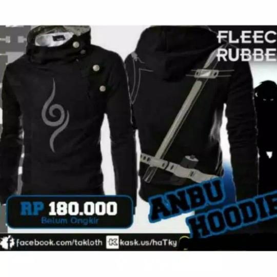 harga Jaket harajuku anbu pedang/jaket sweater anime/harakiri/anbu/adidas Tokopedia.com