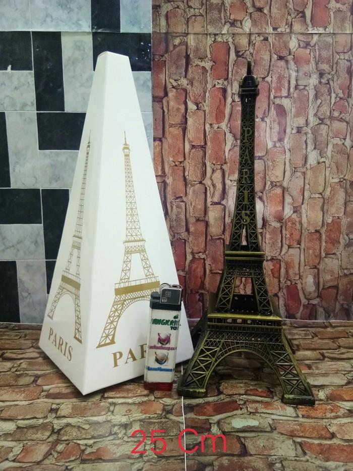 harga Pajangan miniatur menara paris 25 cm Tokopedia.com
