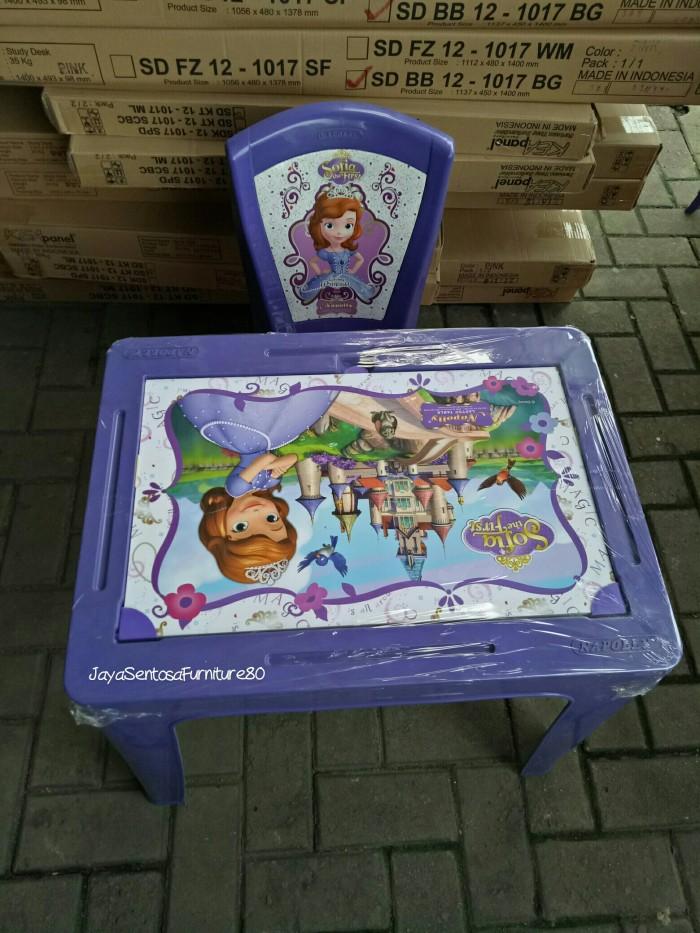 Foto Produk Kursi Dan Meja Belajar Anak Sofia Napoly set dari JAYA SENTOSA FURNITURE80