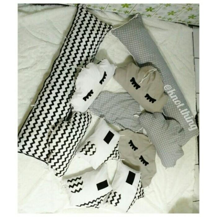 harga Bumper baby box bantal pengaman box bayi ukuran 120x30 cm Tokopedia.com