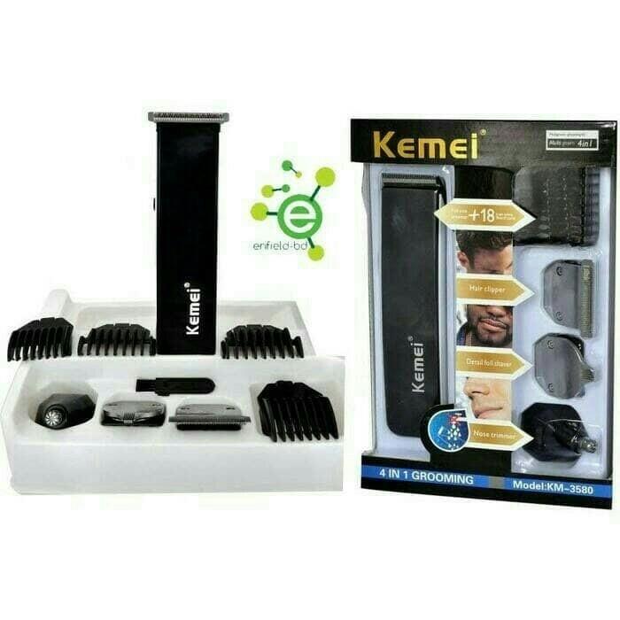 Jual Alat cukur rambut Kemei KM 3590 cliper 5 in 1 - murah jaya ... 5a6a275cfa