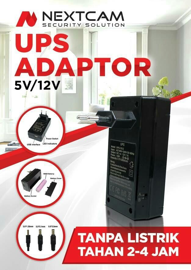 harga Adapter mini ups 5v/2a Tokopedia.com