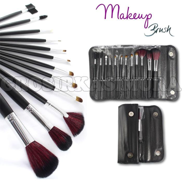 harga Brush set mac isi 12 pcs / kuas make up / makeup / make up brush Tokopedia.com