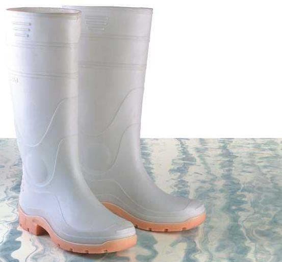 55f9924bd43 Jual Sepatu Boot Karet AP Terra (Putih & Kuning) - Jakarta Timur ...
