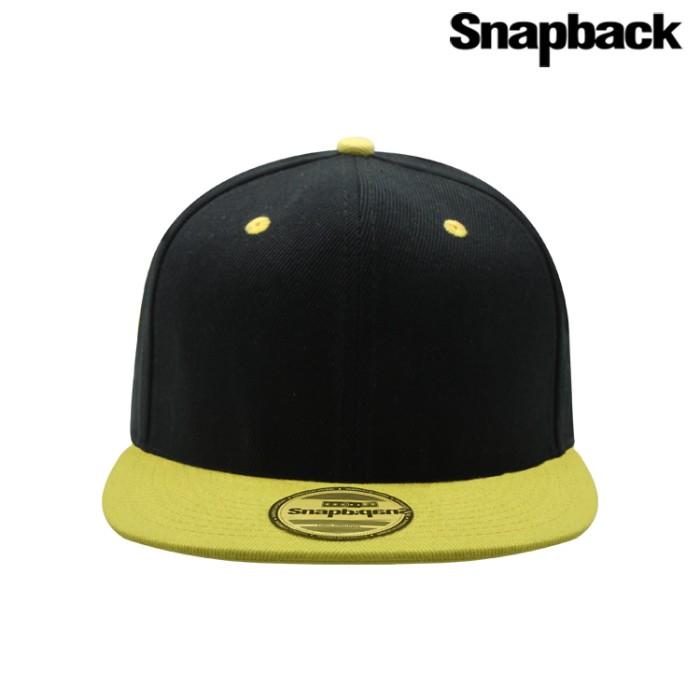 Jual Snapback Topi Hiphop Dewasa Combine ( Black yellow ) - Snapback ... b4ff69f9a4