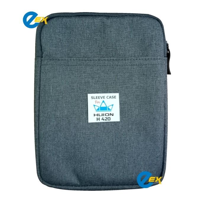 harga Sleeve case cover bag zipper pouch soft for huion h420 Tokopedia.com