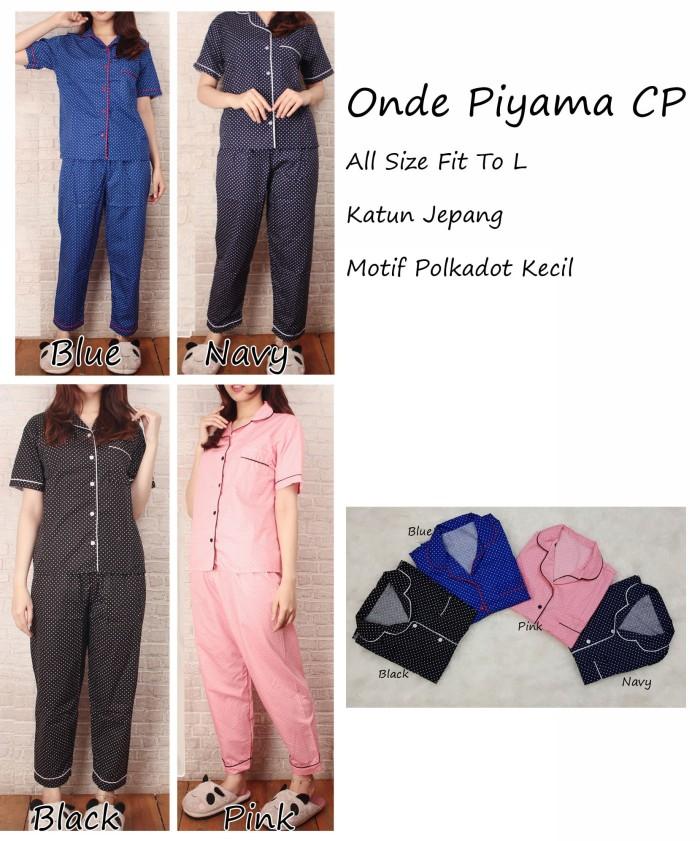 harga Onde piyama celana panjang - baju tidur wanita dewasa - piyama wanita Tokopedia.com