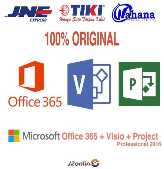 harga Microsoft Office 365 5 Pc + 1tb Onedrive + Microsoft Visio + Project Tokopedia.com