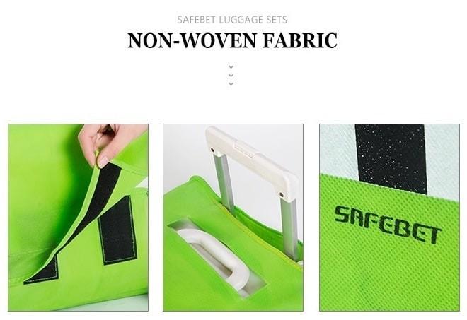 Foto Produk Cover / Pelindung Koper Kain Motif Kincir Angin (22 Inc Limited dari Perkakas Anda