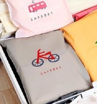Foto Produk Kantong Plastik Travel dengan Ritsleting (Sepeda) (24*3 Murah dari Perkakas Anda