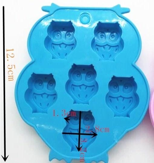 Foto Produk Cetakan Silikon Motif Burung Owl (6 Kotak) Murah dari Perkakas Anda