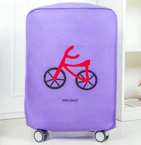 Foto Produk Cover / Pelindung Koper Kain Motif Sepeda (24 Inci) Limited dari Perkakas Anda
