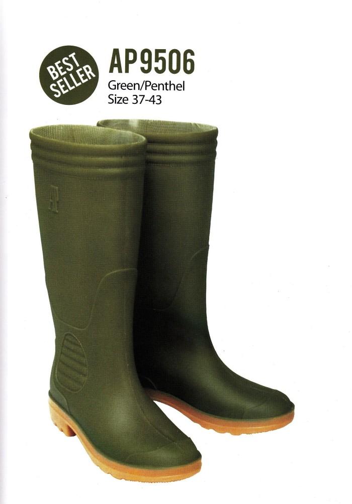 Jual Sepatu Boot AP 9506 Karet Hijau Tua Tinggi Panjang ORIGINAL ... 00a54245af