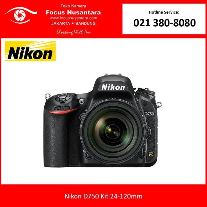 Nikon d750 kit 24-120mm ...