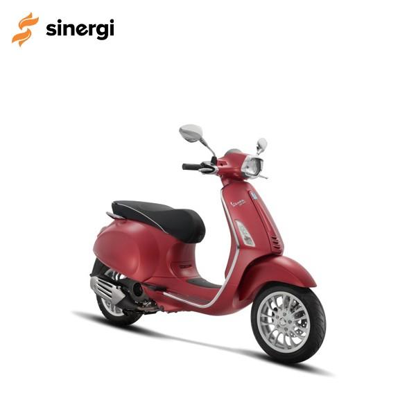 Jual Vespa Sprint 150 I-Get Abs Rosso Matt – Tangerang Harga Promo Terbaru