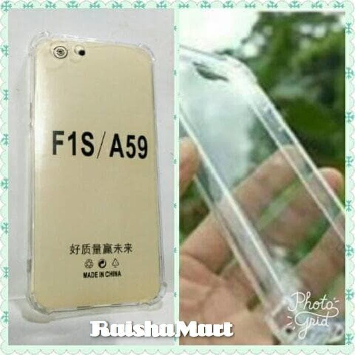 Case Oppo F1S A59 Ultra Thin Anti Crack Soft Cover Ultrathin Casing .