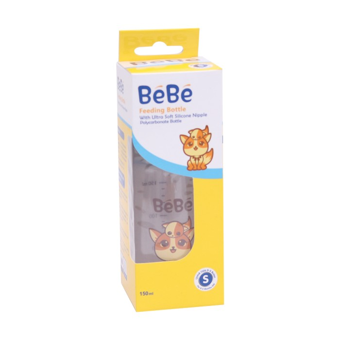 harga Bebe botol susu bayi premium pc 150ml cat Tokopedia.com