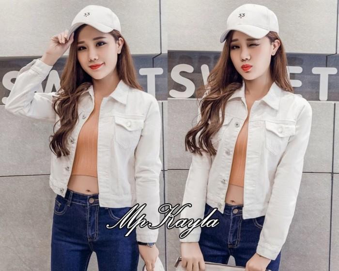 Jaket kayla putih
