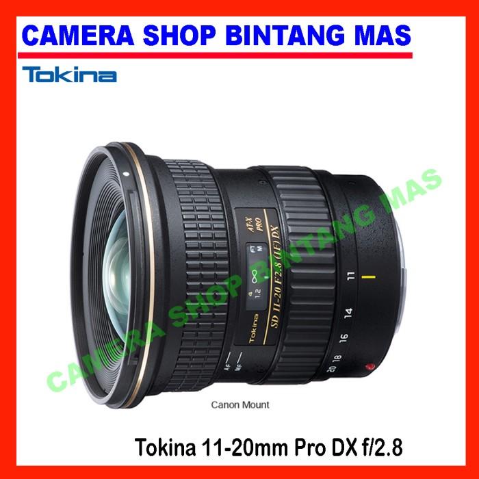 harga Tokina 11-20mm pro dx f/2.8 for canon/nikon Tokopedia.com