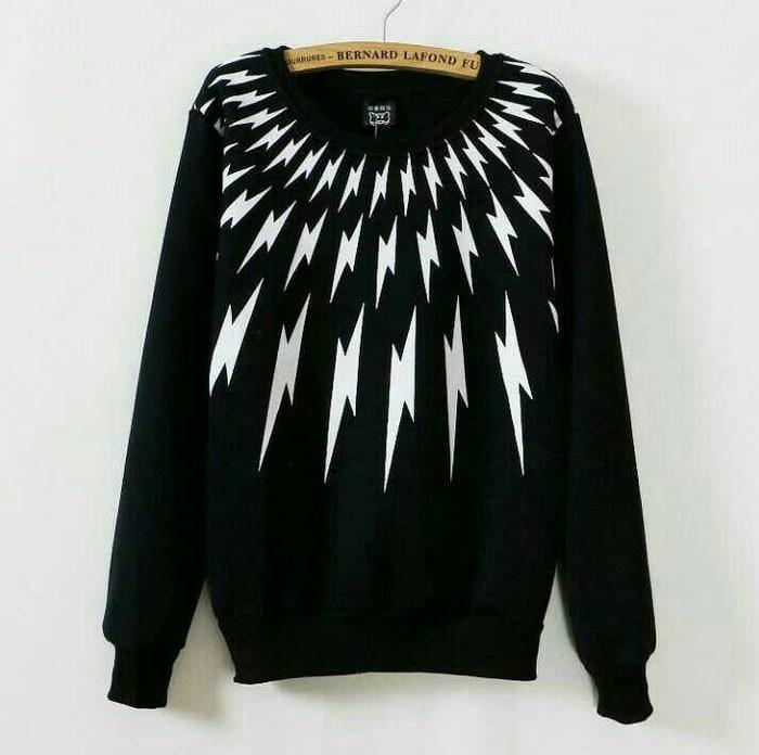 harga Thunder top baju murah atasan kaos cewek wanita remaja lengan panjang Tokopedia.com