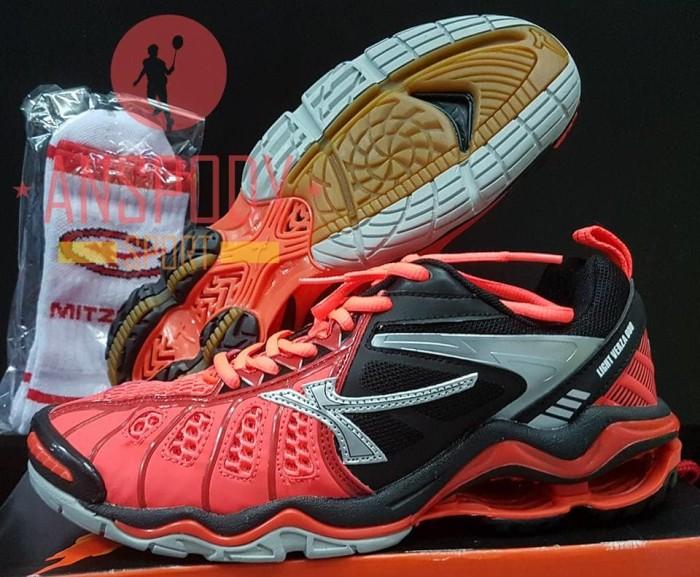 Jual Sepatu Volley Mitzuda Light Verza Duo Red Jakarta Pusat