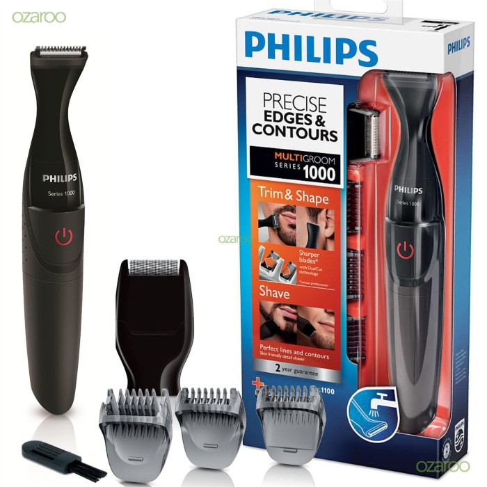 Jual PHILIPS Facial Shaver Alat Cukur Kumis Jenggot MG 1100 philips ... ce26ad9ef3