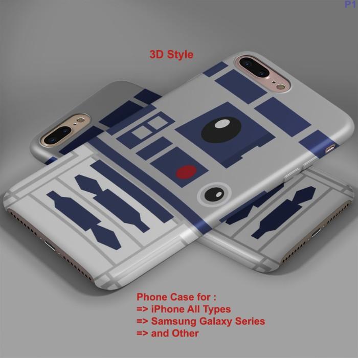 Jual R2 D2 Star Wars logo iPhone Case & All Case HP - Jakarta Pusat -  tukuostore   Tokopedia