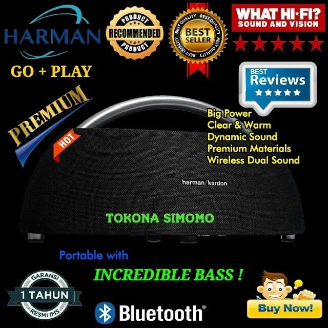 harga Harman kardon go+play mini 2016 portable bluetooth speaker ( black ) Tokopedia.com