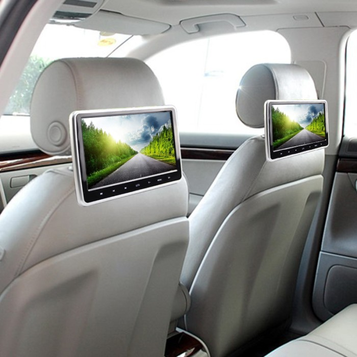 harga Headrest monitor 10.1  dvd clip on - touch screen Tokopedia.com