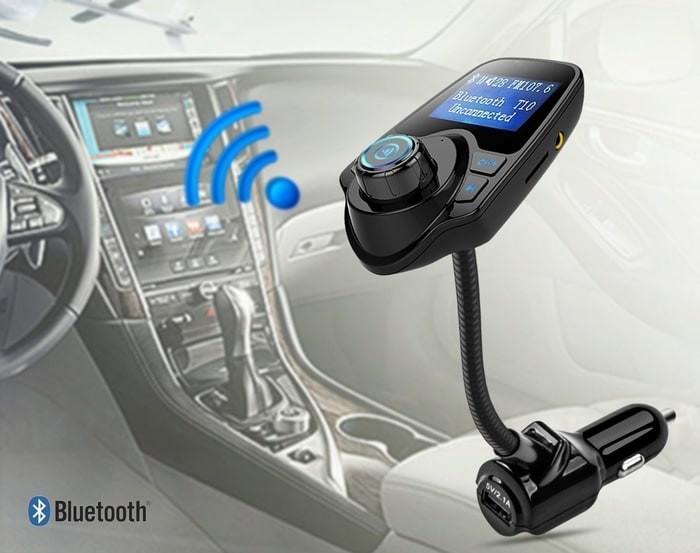 harga Car wireless mp3 t10 / mp3 player bluetooth radio adapter usb charger Tokopedia.com