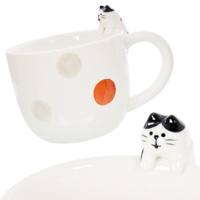 harga Mug Decole Concombre - Kucing Calico Cat Tokopedia.com