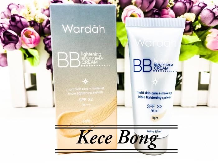 Wardah lightening bb cream 15ml harga Wardah lightening bb cream 15ml Tokopedia.com