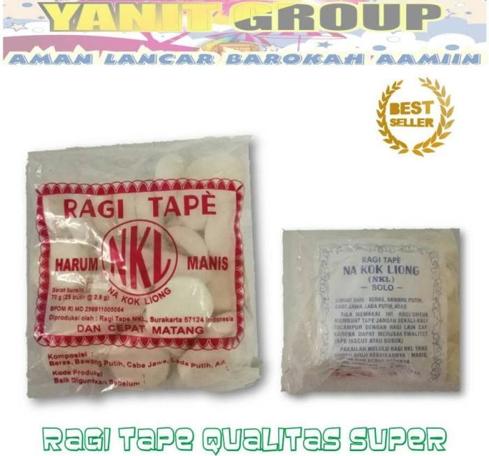 harga Ragi tape nkl grosir kualitas super 1 bal isi 25 pack Tokopedia.com