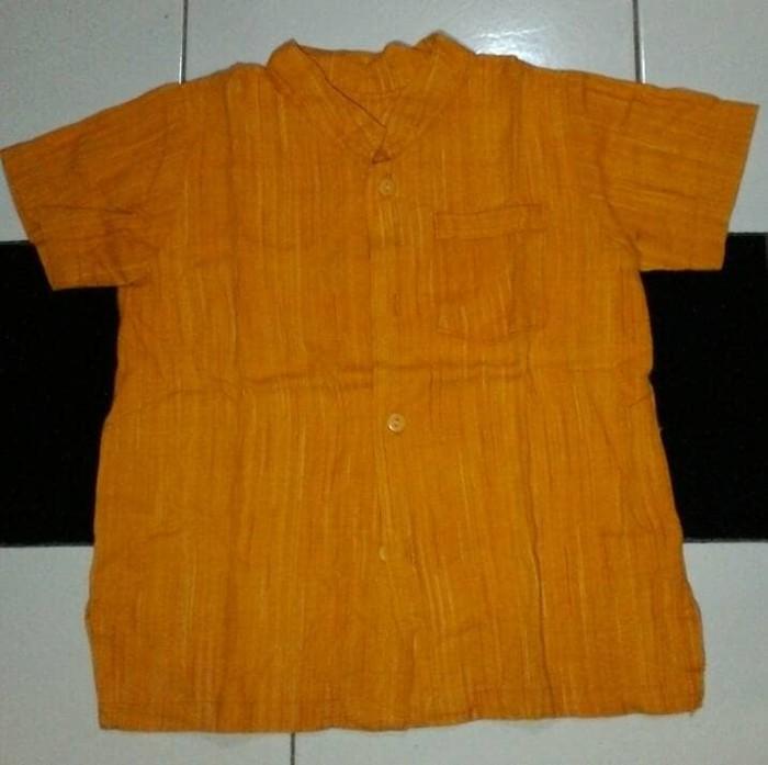 Kemeja Anak Orange Preloved
