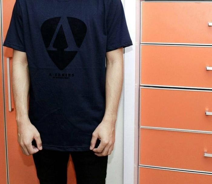 Distro/Kaos/Baju/T-Shirt/A-SERIES GREENLIGHT FLOCKING