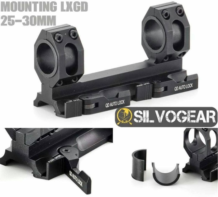 Foto Produk Mounting Scope LXGD 25-30mm dari Silvogear Tactical