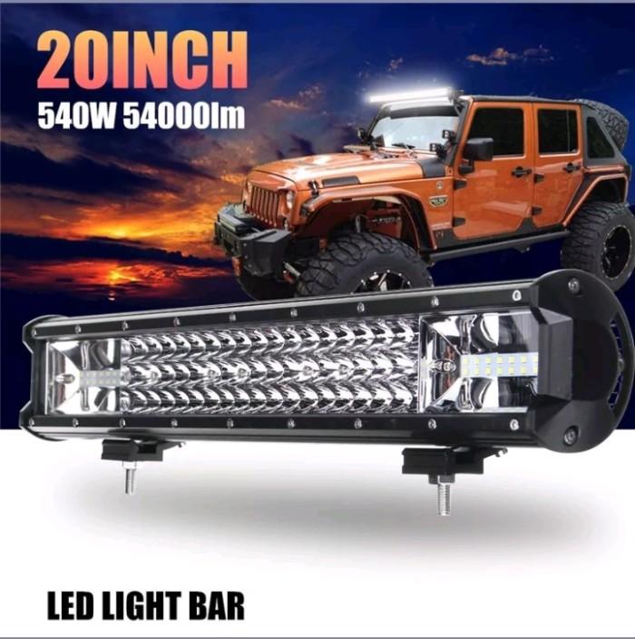 Lampu Tembak Sorot Led Light Bar Combo 540 watt 50cm Monster