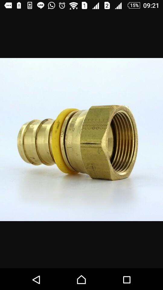 Parker 30682-5-4B Female JIC Straight Swivel 5//16 JIC X 1//4 Hose Brass