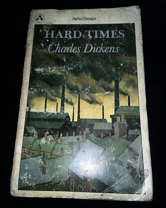 a review of hard times by charles dickens Given the title hard times, i didn't expect it to be a rollicking good time and sure enough this was quite a somber tale, with one or two exceptions in charles dickens' hard times, the industrial town of coketown is divided into the people who run things and the people who toil away in the mills.