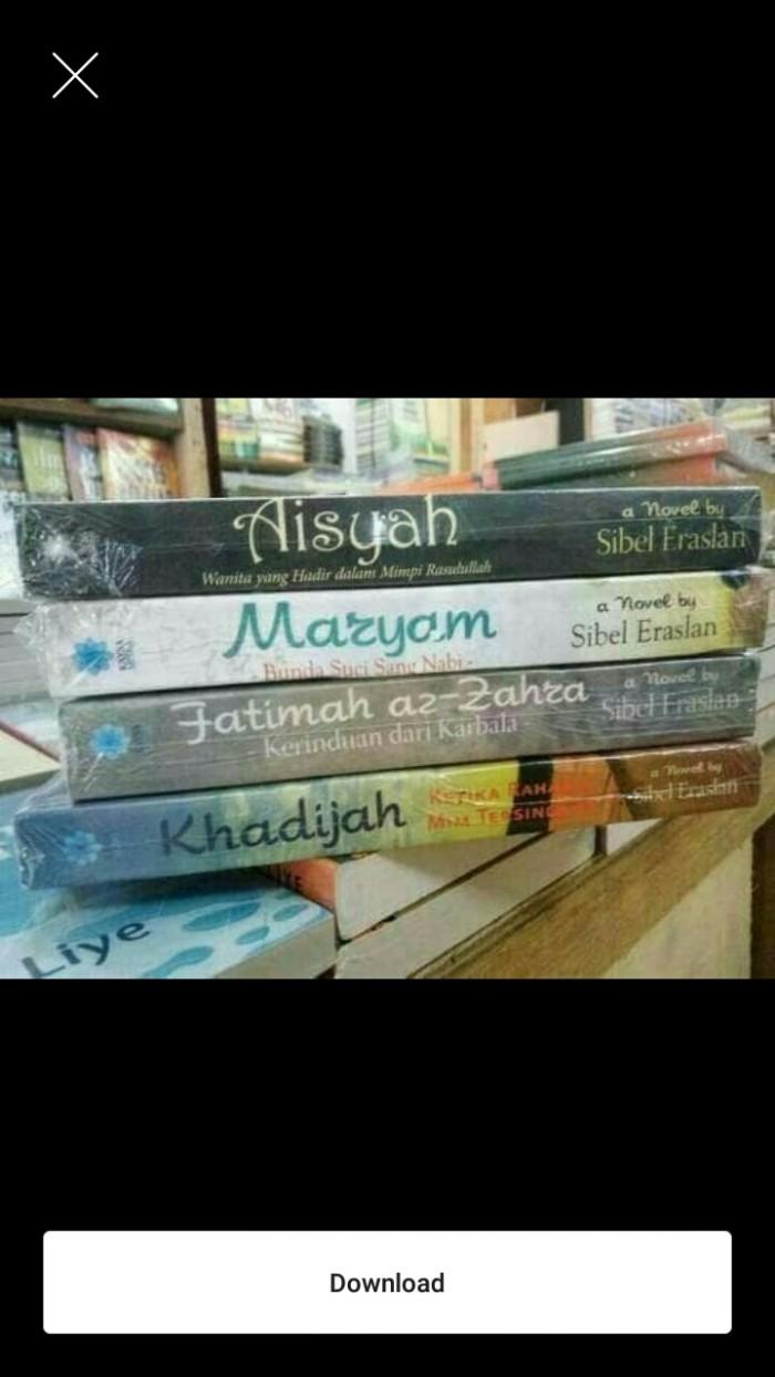 Jual Buku novel siti khadijah,Fatimah az - zahra ,Maryam ...
