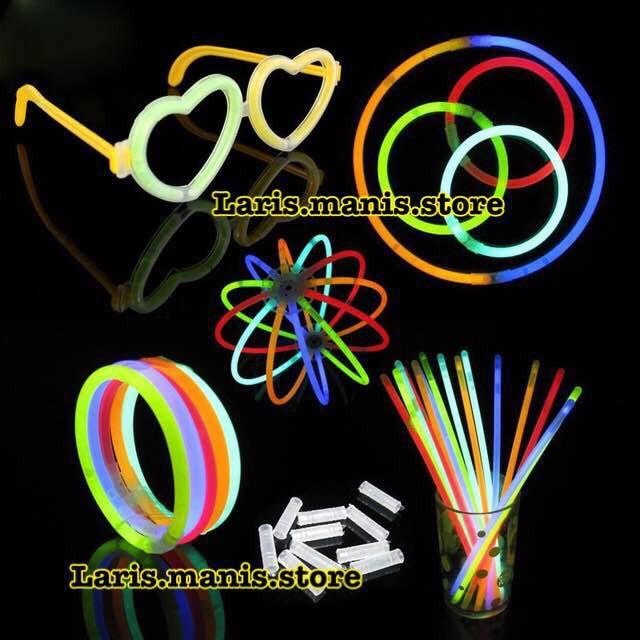 harga Glow stick - glow stick isi 100 - gelang fosfor - fosfor - stick light