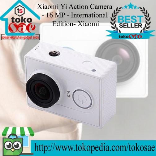Xiaomi yi action camera - 16 mp - putih - xiaomi yi action cam ...