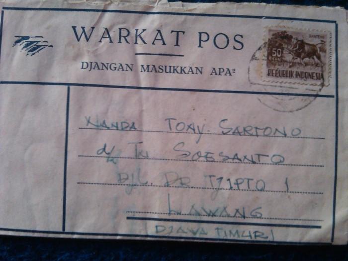 Jual Borongan Warkat Pos Jadul Kab Jombang Toko Antik Widjaja Tokopedia