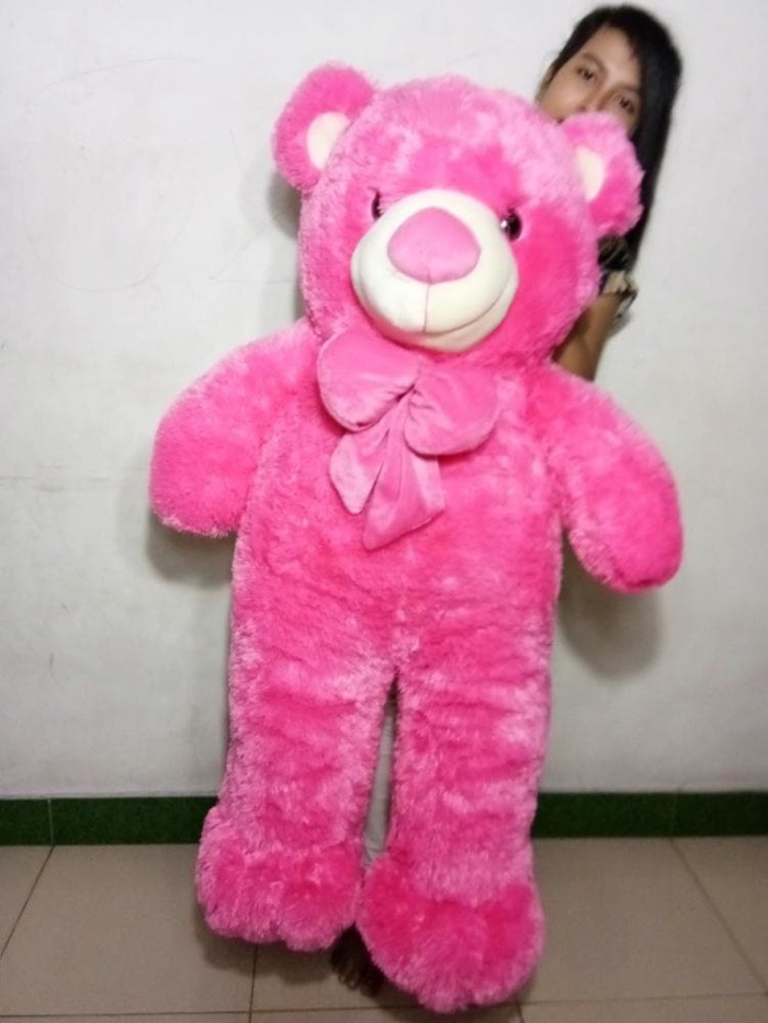 Teddy Bear Jumbo Absorted - Boneka Beruang Big Ukuran 1 Meter Lebih . 8b32d24323