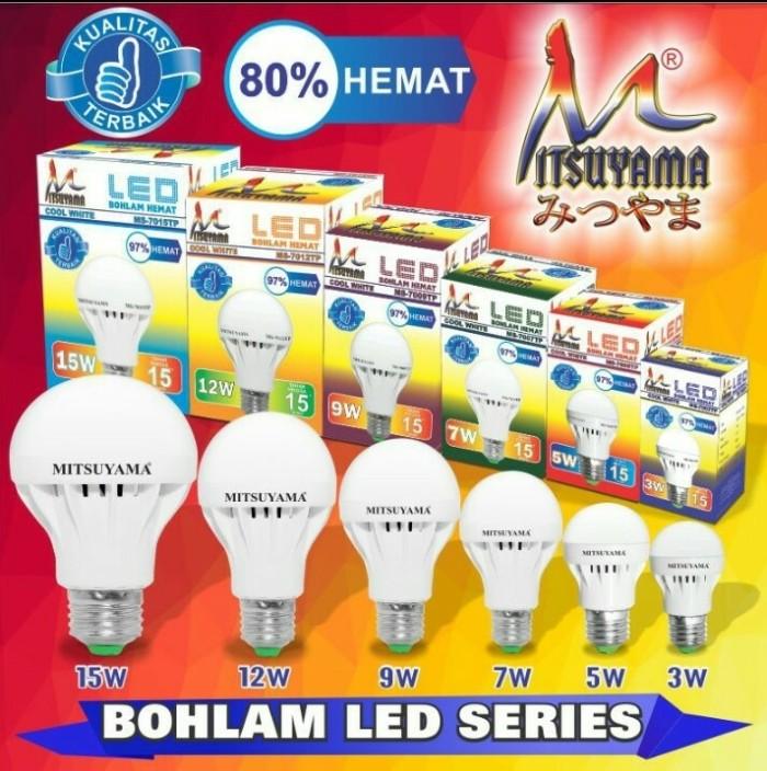 Lampu led mitsuyama 12 watt extra terang/lampu led murah/led Brighton