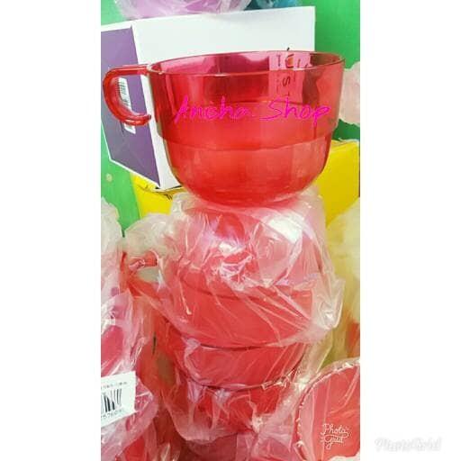 harga Tupperware watercolor cup biru(cangkir/gelas)activity juni 2015 Tokopedia.com