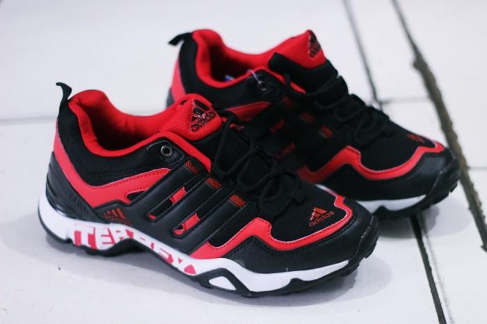 harga Sepatu adidas terrex fast hitam merah premium original hiking ,outdoor Tokopedia.com