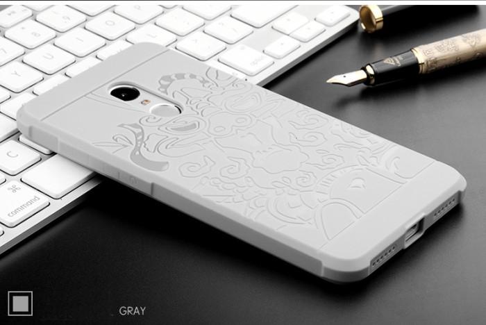 Case Casing Cover Xiaomi Redmi Note 4 Armor Robot Cocose Dragon Tempe