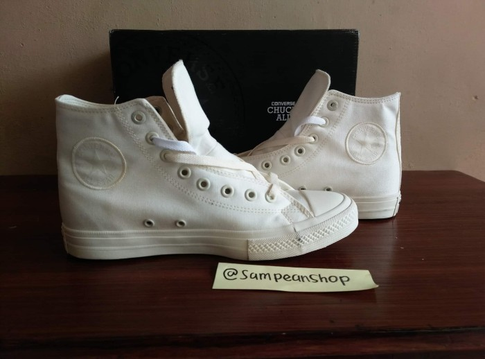 ... harga Sepatu converse all star chuck taylor 2 high of white original  premium Tokopedia.com. Rp. 320000 a593179871