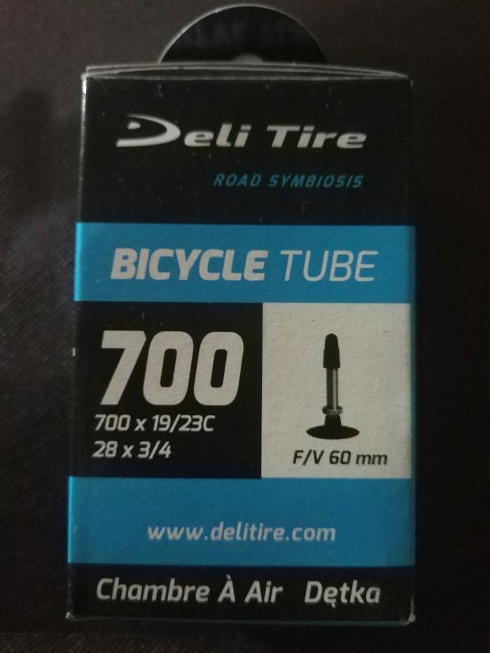 harga Ban dalam sepeda fixie deli tire 700 x 19/23c fv 60mm Tokopedia.com